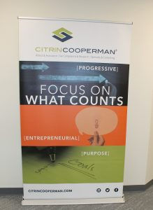 Citrin Cooperman sign