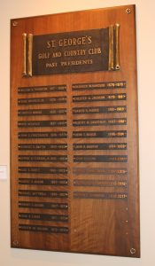 List of St. George's presidents