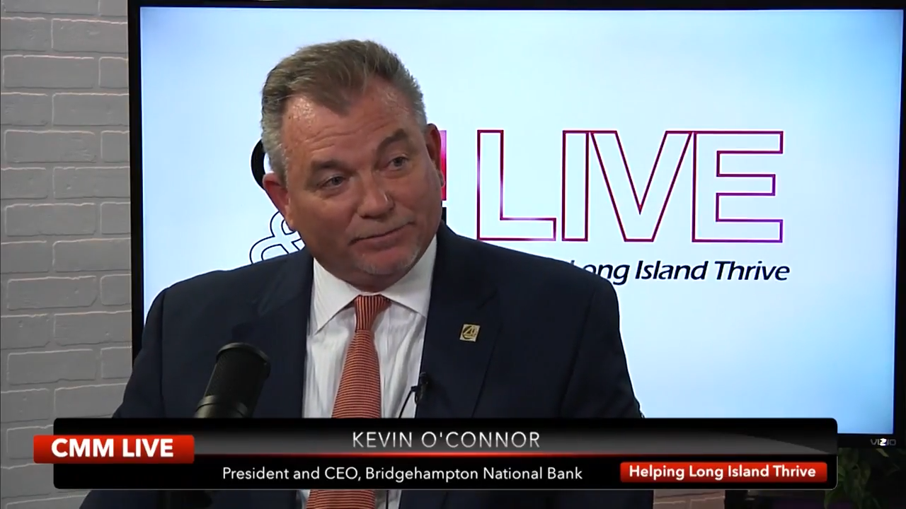 Kevin O'Connor, President and CEO, BNB Bank