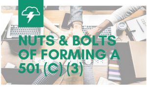 Yermash Presents at Nuts & Bolts of Forming a 501(c)(3)