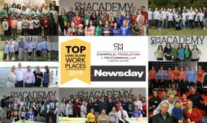 CMM Recognized with Newsday 2019 Top Workplace Award