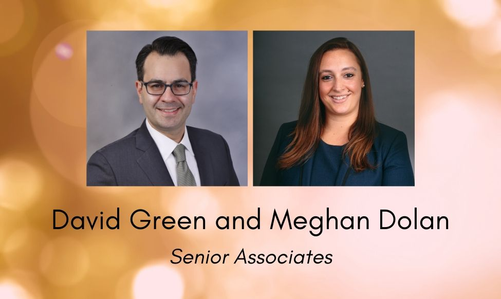 Meghan Dolan and David Green