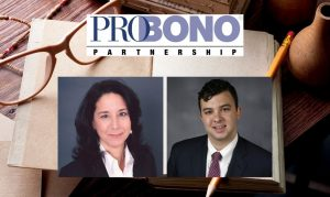 Malafi and Broderick Recognized for Dedication to Pro Bono Work