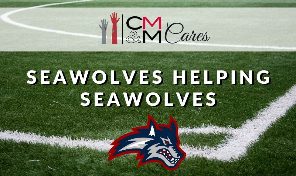 CMM Cares Stony Brook Seawolves