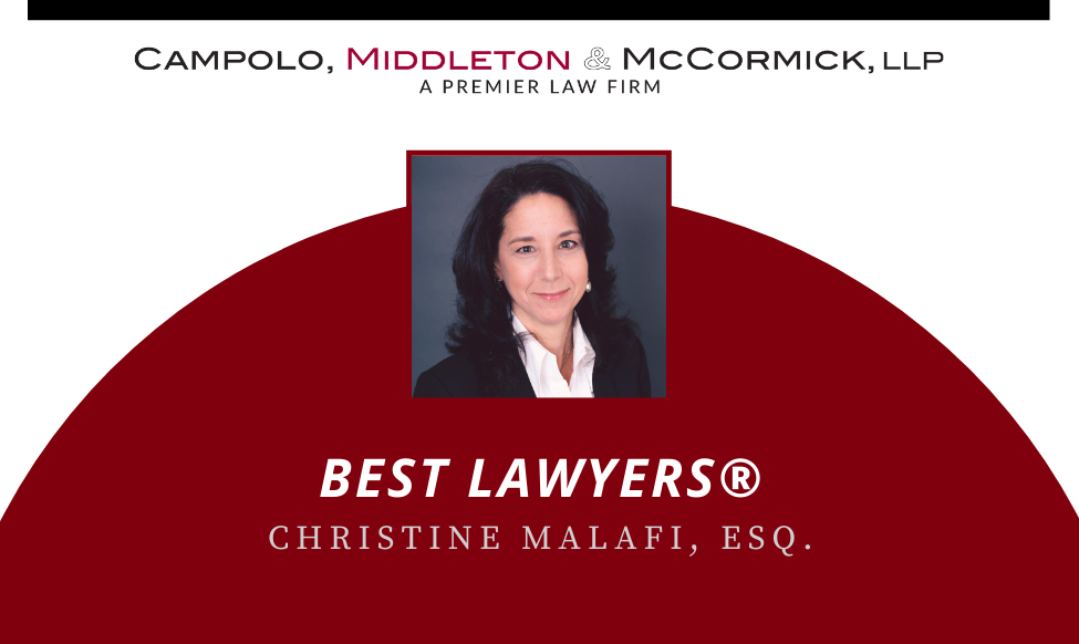 picture of Christine Malafi with Best Lawyers name
