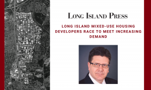 LI Press: Mixed-Use Housing Developers Race to Meet Increasing Demand in Innovation Park