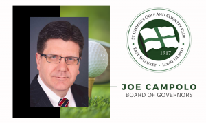 Campolo Elected to St. George's Golf and Country Club Board of Governors