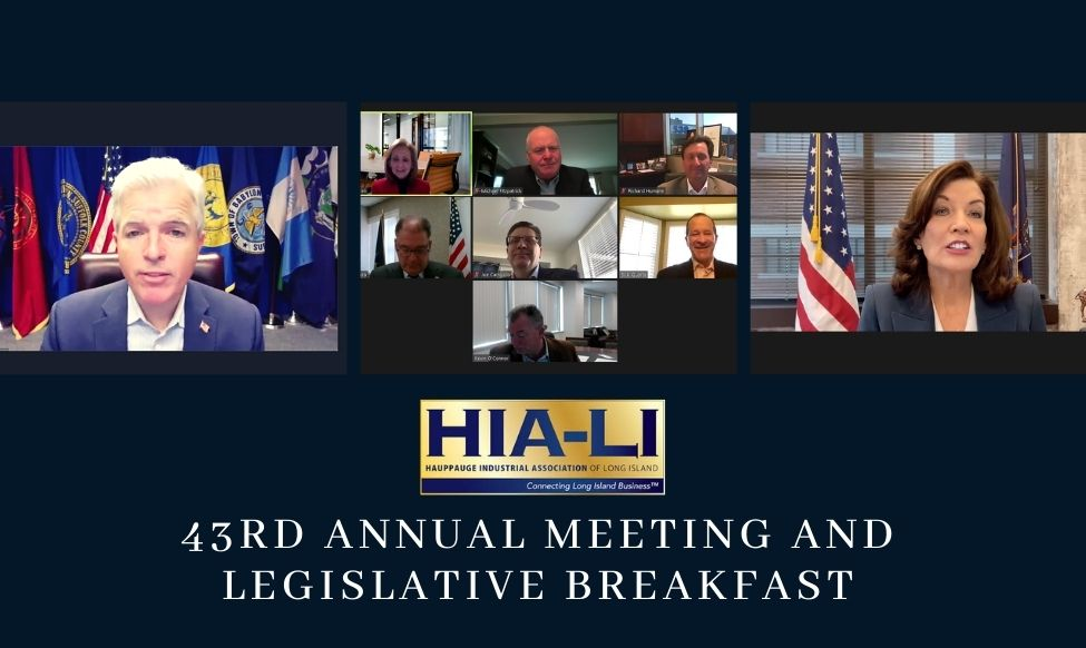 43RD HIA-LI Legislative Breakfast
