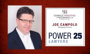 Campolo Named to Top 25 Most Powerful People in Law on Long Island