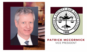 McCormick Elected Second Vice President of Suffolk County Bar Association